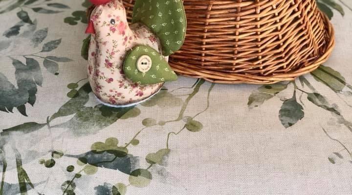 Patchwork Fabric Hen