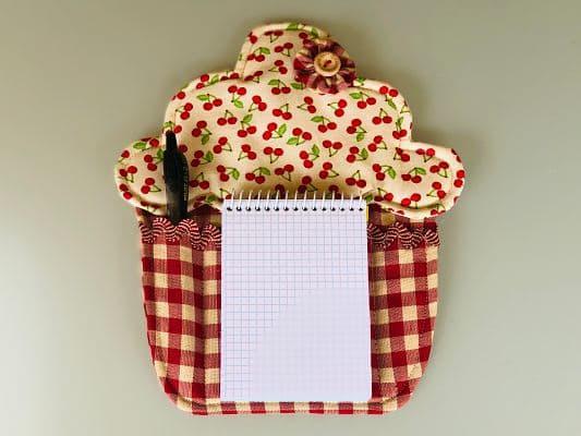 Cupcake Note Holder
