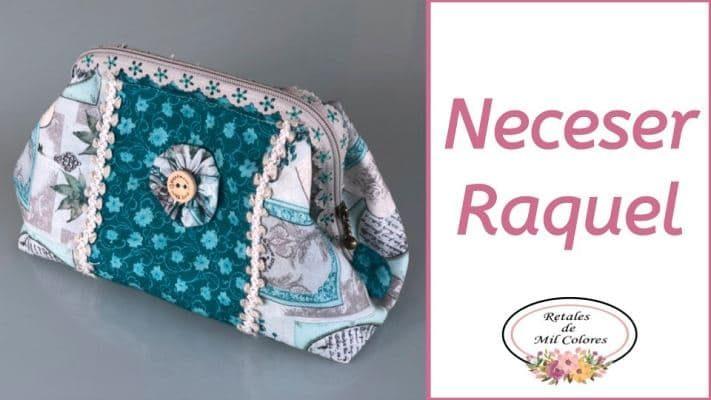 Neceser Toiletry Bag Raquel Retales